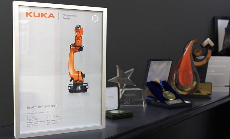 KUKA Robotics System Partner Cert