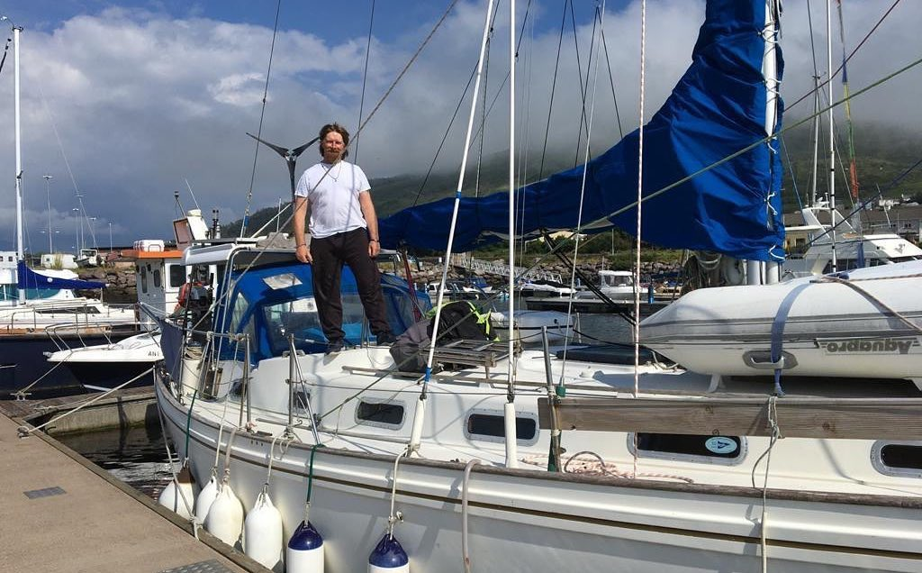 EPS Group to sponsor Peter Lawless as he sails solo around the world