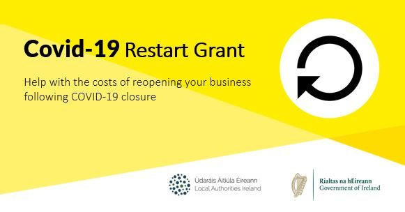 Business Restart Grant available to help with costs of reopening your business after Covid-19 closure