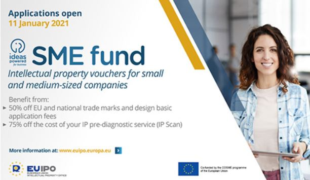 €20 million grant fund to help SMEs maximise intellectual property
