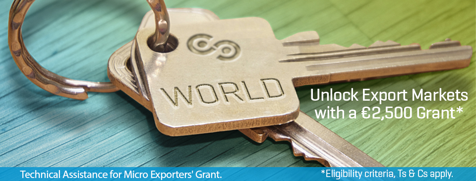 Unlock Export Markets With Help From Local Enterprise Office North Cork & West